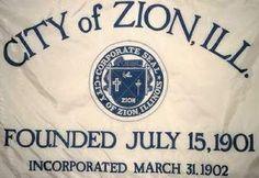 [Zion, Illinois flag]