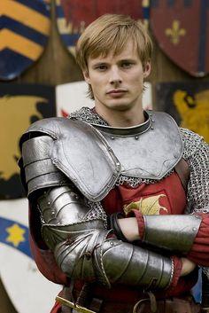 Bradley James as Arthur Pendragon. This boy is adorable.