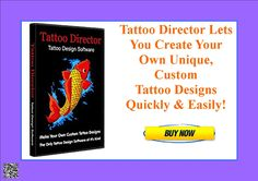 Tattoo Director Lets You Create Your Own Unique, Custom Tattoo Designs Quickly & Easily! http://d39afyxc2hfp2zcs3b-cq8fs6y.hop.clickbank.net/?tid=ATKNP1023