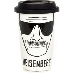 River Island Heisenberg ceramic coffee cup (18 AUD) ❤ liked on Polyvore featuring home, kitchen & dining, drinkware, fillers, drinks, food, accessories, gifts, ceramic coffee cups and river island