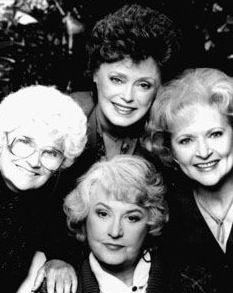 Golden GIrls tv show in the 90's