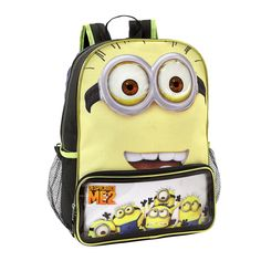 It s so fluffy! Despicable me backpack.  shopko Despicable Minions 12621b7d848f4