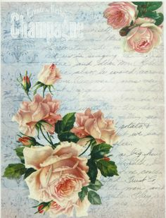 Ricepaper / Decoupage paper, Scrapbooking Sheets Champagne