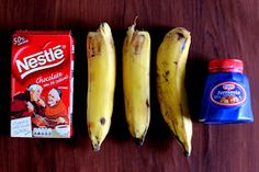 Dá pra acreditar??? Este brownie lindo e suculento foi feito só com estes 3 ingredientes: bananas + chocolate em pó + f...