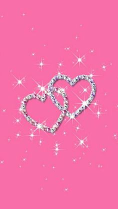 Breast Cancer Awareness Glitter Wallpaper Pink Locked Heart