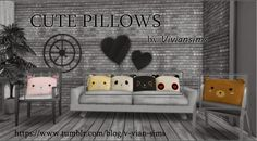 My Sims 4 Blog: Cute Pillows by VvianSims