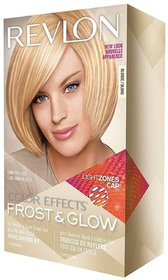 Revlon Color Effects Frost & Glow All-In-One Highlighting Kit, Blonde 1 ea (Pack of 2). Product of Revlon. Pack of 2.