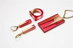Image result for resin and wood jewelry