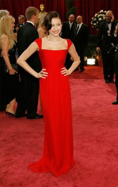 2008 Miley Cyrus in Valentino at the Academy Awards