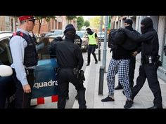 Detenidos en Cataluña integrantes de organizaciones de actividades terro...