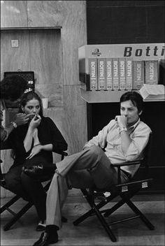 Ornalla Muti con Alain Delon 1977
