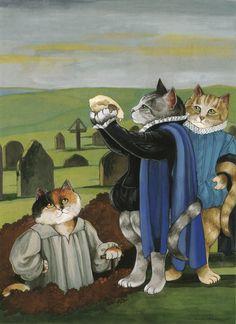 """Hamlet (William Shakespeare)"" par Susan Herbert"