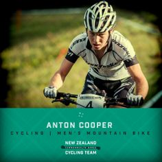 Anton Cooper has been announced to represent New Zealand in the men's mountain biking event at the 2014 Commonwealth Games in Glasgow. #glasgow2014