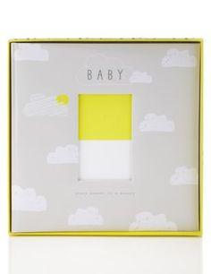 Large Baby Photo Album   M&S