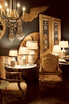 Vintage, French, Industrial, Rustic