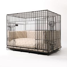dog crate mattress and bed bumper set from charley chau - luxury