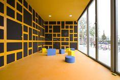 Anansi Playground Building by Mulders vandenBerk Architecten - Dezeen #interiors