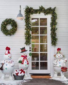 85 Best Outdoor Winter Decorating Ideas Images On Pinterest Balsam