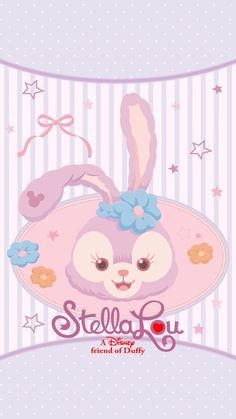 Disney Sanrio Wallpaper, Disney Phone Wallpaper, Bear Wallpaper, Kawaii Wallpaper, Wallpaper Iphone Cute, Wallpaper Backgrounds, Duffy The Disney Bear, Disney Love, Disney Cookies