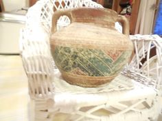 Beautiful Vintage Pottery Pot  :  SALE by Daysgonebytreasures
