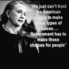 NO Hillary!