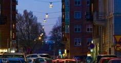 ateljé Lyktan had the pleasure of being commissioned to supply street lights for the centre of Gothenburg