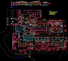 CAD Architect features Free CAD Blocks, CAD Symbol libraries and AutoCAD Drawings and Details in DWG format for engineers & architects. Cad Symbol, Cad Blocks, Autocad, Clinic, Templates, Drawing, Building, Stencils, Buildings