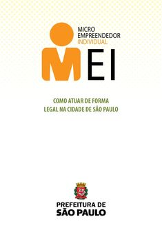 Cartilha Mei - Micro Empreendedor Individual