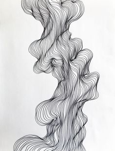 Abstract line art, black and white modern drawing, organic line shape design bla. - Abstract line art, black and white modern drawing, organic line shape design blackandwhiteartdrawing - Abstract Line Art, Abstract Drawings, Art Drawings, Tattoo Abstract, Abstract Designs, Drawing Faces, Girl Illustration Art, Illustration Vector, Watercolor Illustration
