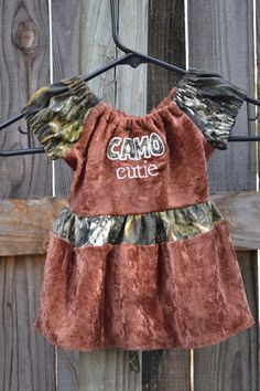 2T3T Camo Cutie Shirt by SimplyCountryCrafts on Etsy, $22.00