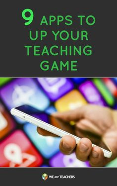 9 Apps to Up Your Teaching Game: Have you set goals for the new school year? Well, we've got the tools you'll need to accomplish them.