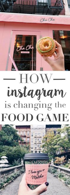 HOW INSTAGRAM IS CHANGING THE FOOD GAME - chachamatcha, mimi chengs, seamores casual restaurant, food styling, food photo tips, instagram, food photography - This street could possibly be the most famous food strip in the world! I can't believe how gorgeous these photos look!
