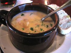 Golden Corral's New England Clam Chowder