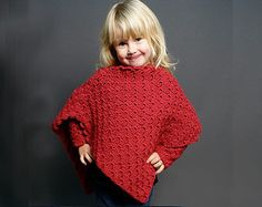Children's Poncho | Pattern Only