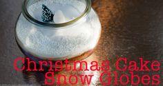 Christmas Cake Snow Globe