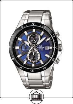 bf28ca610adb Casio EFR-519D-2AVEF - Reloj analógico de cuarzo para hombre con correa de