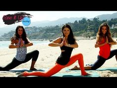 Beach Barre Workout With Renée Herlocker | Tone It Up Tuesdays
