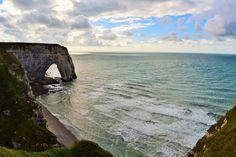 Etretat, nu doar un loc îndepărtat pe harta Franţei - Ioana Vesa Eugene Boudin, Gustave Courbet, Henri Matisse, Monet, Playground, Arch, Water, Artist, Outdoor