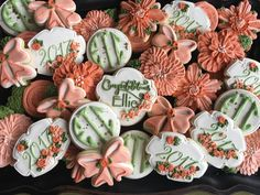 Elegant Graduation Party cookie set by Penny White