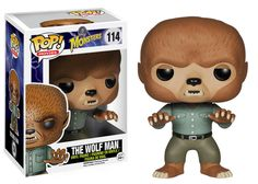 Funko Pop! Movies: Universal Monsters - The Wolf Man