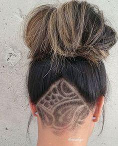 Stunning Undercut Art #Hair By @houseofgen #UCFeed #BuzzCutFeed #Undercut #Undercuts #ShavedNape #NapeShave #NapeBuzz #UndercutNation #NapeCut #UndercutDesign #BarberArt #BarberShopConnect #BarberLife #InternationalBarbers #BarbersIncTv #HairTattoo #HairArt #BuzzCut #GirlsWithShavedHeads #HotOnBeauty #BeautyLaunchPad #BehindTheChair #ModernSalon