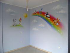 Baby Looney Tunes room