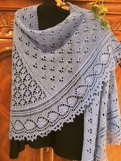 My Sweet, Gorgeous and Romantic Caloran Shawl