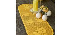 PÅSKELØPER: Elegant og tidløs påskeduk Free Knitting, Free Crochet, Knitting Patterns, Crochet Patterns, Viking Knotwork, Big Knit Blanket, Jumbo Yarn, Big Knits, Knit Pillow