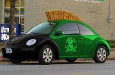 Green Mohawk VW Beetle