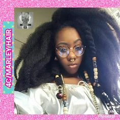 4c Natural Hair, Natural Hairstyles, Ebony Hair, Front Braids, Marley Hair, Hair Due, Trending Hairstyles, Hair Trends, New Hair