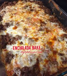Looking for an amazingly delicious, low carb dish? Try my enchilada bake. Don't miss my recipe for homemade taco seasoning to give it even more flavour.