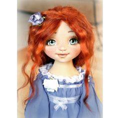 Эту девочку я нигде не показывала после очередного обновления, которое произошло полгода назад. Хочу восполнить пробел, все же она не виновата, что мастер криворук зато ее точно теперь любят  #кукла #авторскаякукла #куклыселении #текстильнаякукла #рыжая #doll #artdoll #seleniya