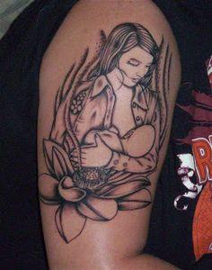 Breastfeeding and Motherhood Tattoos ~ Nursing Freedom