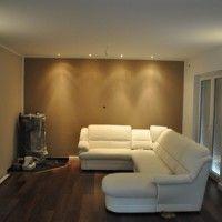 Led-beleuchtung-wohnzimmer-ideen-led-streifen-spots | Licht ... 18 Designs Wohnzimmer Mit Gewolbe Decke